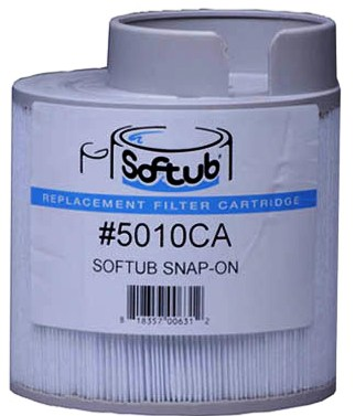 Softub Filter Snap-On Short (#5010) P/N 20022000